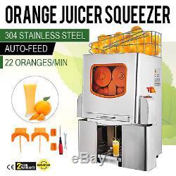 Commercial Orange Juice Squeezer Machine Lemon Fruit Stainless Juicer Extractor