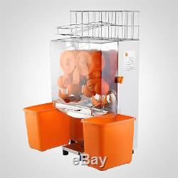 Commercial Orange Juicer Squeezer Juice Extractor 120w Auto Feed Fruit Brand New