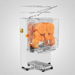 Commercial Orange Squeezer Juice Fruit Extractor Maker 22-30 Oranges/min