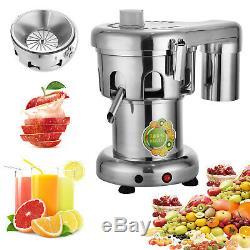 Commercial Vegetable Fruit Juicer 220V Juice Extractor Orange Electric Squeezer