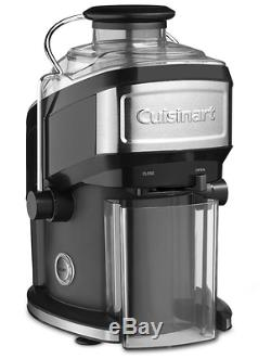 Cuisinart 16 oz. Compact Fruit Vegetable Juice Extractor Juicer Machine Black