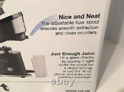 Cuisinart Compact Juicer Pitcher Kitchen Electric Extractor Fruit Vegetables New