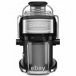 Cuisinart Electric 480ml Compact Juice Pulp Extractor Vegetable Fruit Juicer