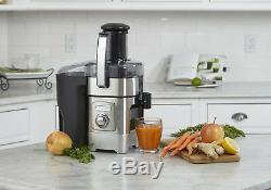 Cuisinart Stainless Steel Fruit and Vegetable Juicer