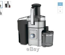 Cuisinart Stainless Steel and Black Fruit Vegetable Juice Extractor Juicer 34-oz