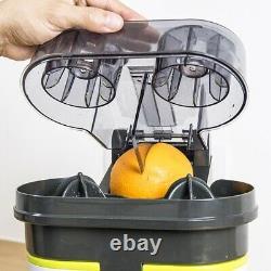 Double Orange Electric juicer Citrus Fruit Machine Squeezer
