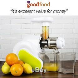 ElectriQ Slow Masticating Juicer Fruit Vegetable Cold Press Juice Extractor