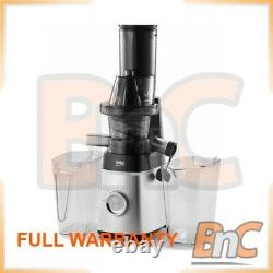 Electric Centrifugal Juicer Fruits Citrus Squezzer Low Speed BEKO SJA3209BX 200W
