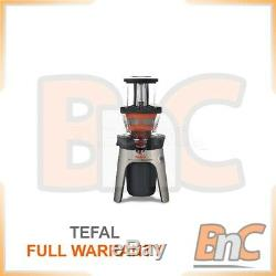 Electric Centrifugal Juicer Fruits Citrus Squezzer Low Speed TEFAL ZC500H38 300W