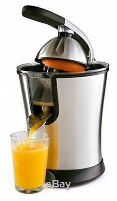 Electric Citrus Juicer Orange Juice Lemonade Squeezer Machine Stainless Steel
