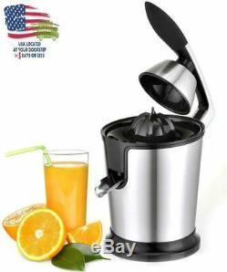 Electric Citrus Juicer Orange Press Extractor 160 W Fruit Juice Squeezer Machine