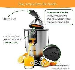 Electric Citrus Juicer Orange Press Extractor Machine Fruit Juice Squeezer Drink
