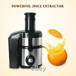 Electric Juice Fountain Powerful Juice Extractor 2000ML Fruit Vegetable Juicer