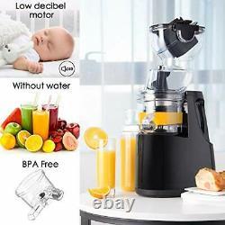 Electric Juicer Fruit Vegetable Extractor Juice Maker Machine Slow Masticating