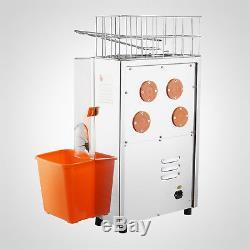 Electric Press Orange Squeezer Commercial Citrus Juicer Fruit Juice Extractor