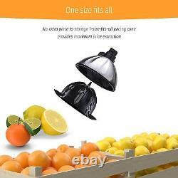 Electric Stainless Steel Orange Citrus Juicer Squeezer 160 Watts Press Extractor