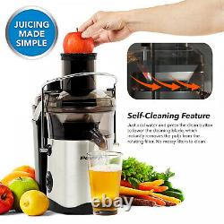 Electrical Juicer Self-Cleaning Juice Extractor Machine XL For Fruits/ Vegetable