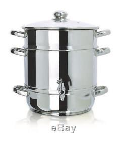 Euro Cuisine Stainless Steel Steam Juicer