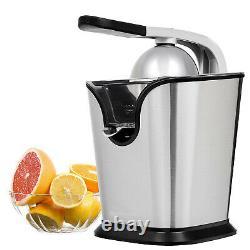 Exprimidor Electrico de Jugos Naranjas Toronjas Limones Extractor de Zumos Acero