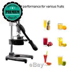 FOBUY Commercial Grade Citrus Juicer Hand Press Manual Fruit Juice Squeezer