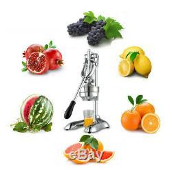 Family Hand Press Manual Fruit Juicer Juice Squeezer Citrus Lemon Extractor