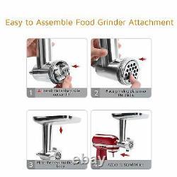 Food Meat Grinder Slicer Shredder Juicer Citrus Parts For KitchenAid Stand Mixer