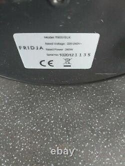 Fridja F1900/Blk Powerful Masticating Juicer Smoothie Maker