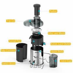 Fruit Juicer Kitchen Dual Speed Juice Making Machine Wide Mouth Centrifugal