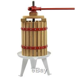 Fruit Wine Cider Press Apple Grapes Crusher Juice Maker Juicer 3.2 Gallon Making