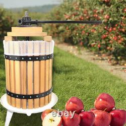 Fruit Wine Cider Press Apple Grapes Crusher Juice Maker Juicer 3.2 Gallon Making