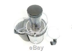 Gourmia GJ1250 Wide Mouth Fruit Centrifugal Juicer Juice Extractor