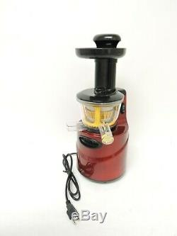 Gourmia GSJ200 Masticating Slow Juicer, Max Nutrient Fruit and Vegetable Juice