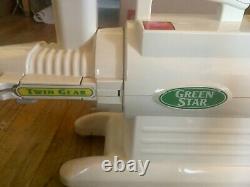 Green Star Twin-Gear Juice Extractor GS 2000- Juicer extras