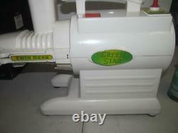 Green Star Twin Gear Juicer Gs-3000fruit Vegetable Juicer