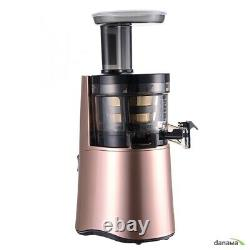 HUROM Alpha Slow Juicers H-AA Extractor Squeezer 0.5L 43 RPM 3 colors