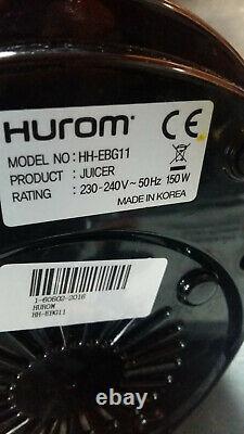 HUROM Cold Press Slow Vertical Masticating JUICER HH-EBG11