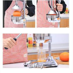 Hand Press Orange Juicer Manual Fruit Juice Machine Grade Citrus Lemon Squeezer