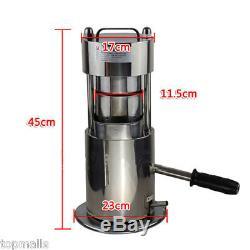 Handle 10T Hydraulic Fruit Sugar Cane Juicer / Fruit Juice Extractor