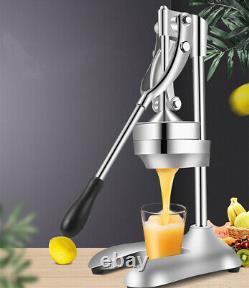 Home Fruit Squeezer Manual Hand Press Orange Juicer Lemon Juice Extractor NEW