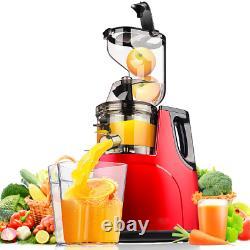 Household Fruit 360 Degree Automatic Multi-function Large-caliber Juicer