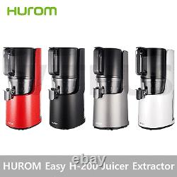 Hurom Easy H-200 Simply Perfect Slow Juicer Fresh Extractor Cold Squeezer 220V