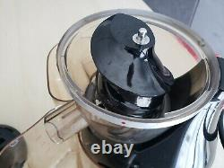 Hurom HU-300 Vertical Masticating Slow Juicer Black 230v power cord