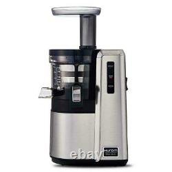 Hurom HZ-SBB17 Slow Juicer 16.9 oz Slow Squeeze Technology NEW (Silver)