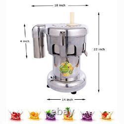Intbuying Fruit Vegetable Juice Extractor Maker Cold Press Juicer Machine 750W