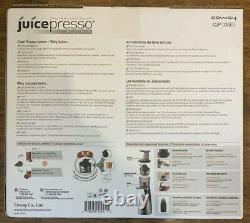 JUICER (juice Extractor) COWAY JUICEPRESSO Platinum Cold Press Juicer CJP-03SEU
