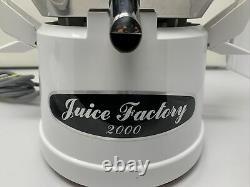 JUICE FACTORY 2000 Stainless Steel Fruit&Vegetable Juicer Tested, Used, Works