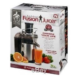 Jack Lalanne Stainless Steel Kitchen Juicer Fruit And Vegetable Health Nutrition