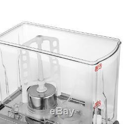 Juice Beverage Dispenser 18L Cold/Hot Drink Stainless Fruit Milk Juicer 200/550W