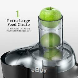 Juice Machine Wide Mouth 500W Juice Maker Fruit Extractor Vegetable Centrifugal