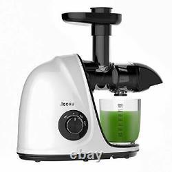 Juicer Machine, Jocuu Slow Juicer Masticating Juicer Extractor, Cold Press